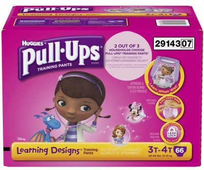 Pull-Ups Training Pants with Learning Designs (3T-4T) Deal