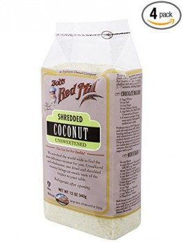 Bob's Red Mill Shredded Coconut Unsweetened, 12-Ounce (Pack of 4) Deal