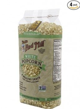 Bob's Red Mill White Corn Popcorn, 27-Ounce (Pack of 4) (packaging may vary) Deal