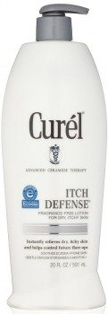 Curel Itch Defense Lotion, Fragrance Free, 20 Ounce Deal