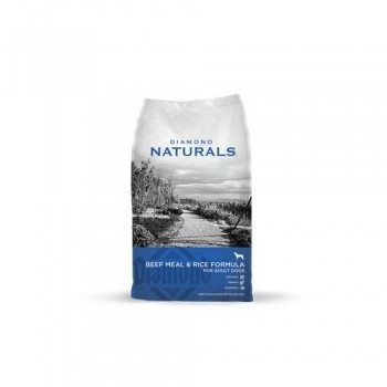 Diamond Naturals Dry Food for Adult Dog, Beef and Rice Formula, 40 Pound Bag Deal