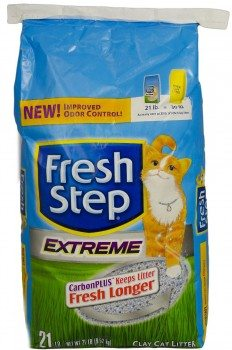 Fresh Step Cat Litter, Extreme, 21-Pound Package Deal