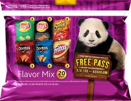 Frito-Lay Chips Flavor Mix Multipack, 20 Count Deal