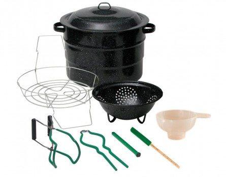 Granite Ware 0718-1 Enamel-on-Steel Canning Kit, 9-Piece Deal