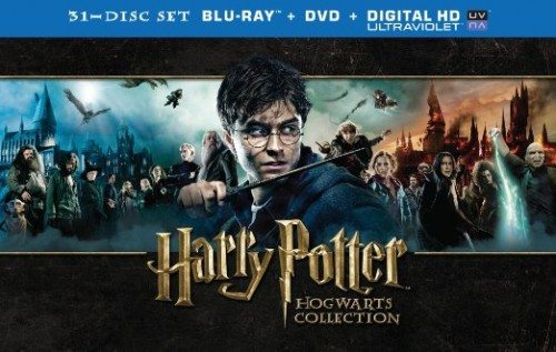 Harry Potter Hogwarts Collection (Blu-ray + DVD) Deal