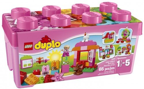 LEGO DUPLO Creative Play 10571 All-in-One-Pink-Box-of-Fun Deal