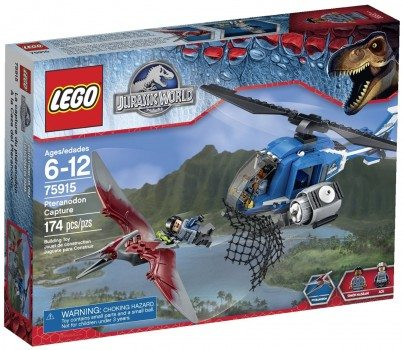 LEGO Jurassic World Pteranodon Capture 75915 Building Kit Deal