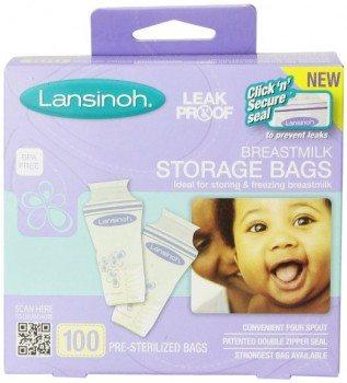 Lansinoh Breastmilk Storage Bags, 100 Count Deal