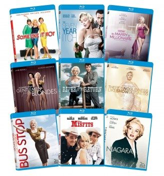 Marilyn Monroe Classic 9 Film Collection [Blu-Ray] Deal