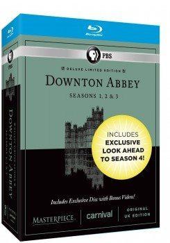Masterpiece Downton Abbey Seasons 1, 2 & 3 Deluxe Limited Edition (Amazon Exclusive Season 4 Bonus Features) [Blu-ray] Deal