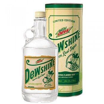 Mountain Dew DEWshine, 25 Fl Oz, Limited Edition Collectible Glass Jug Deal
