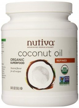 Nutiva Refined Coconut Oil, 54 oz. Deal