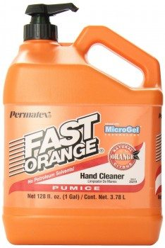 Permatex 25219 Fast Orange Pumice Lotion Hand Cleaner with Pump, 1 Gallon Deal