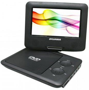 Sylvania Portable DVD Player SDVD7027-C, 7-Inch, Swivel Screen, Black Deal