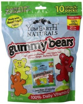 YumEarth Natural Gummy Bears, 10 Count, net wt. 7oz Deal