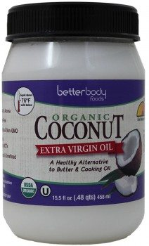 BetterBody Foods Organic Extra Virgin Coconut Oil,15.5 Ounce Deal