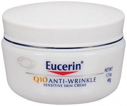 Eucerin Q10 Anti-Wrinkle Sensitive Skin Creme, 1.7 Ounce Deal
