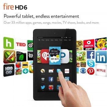 Fire HD 6, 6 HD Display, Wi-Fi, 8 GB Deal