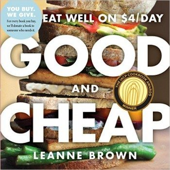Good and Cheap Eat Well on $4 Day Deal