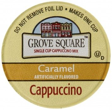 Grove Square Cappuccino, Caramel, 24 Single Serve Cups Deal