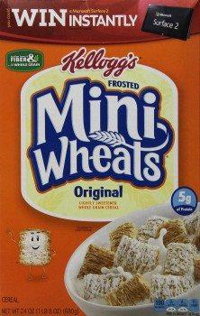 Kellogg's Frosted Mini Wheats Original, 24 Ounce Box Deal
