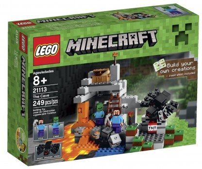LEGO Minecraft The Cave 21113 Playset Deal