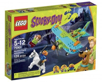 LEGO Scooby-Doo 75901 Mystery Plane Adventures Building Kit Deal