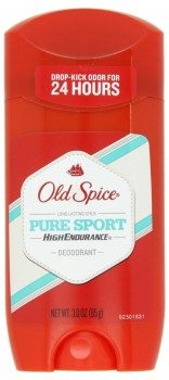 Old Spice High Endurance Pure Sport Scent Men's Deodorant 3 Oz (Pack of 4) Deal