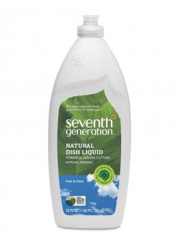 Seventh Generation Dish Liquid, Free & Clear, 25-Ounce Bottles (Pack of 6) Deal
