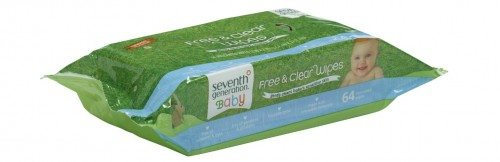 Seventh Generation Thick & Strong Free and Clear Baby Wipes, 768 Count Deal