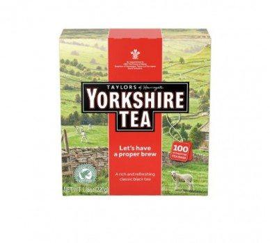 Taylors of Harrogate Yorkshire Tea,100 Tea Bags Deal