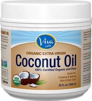Viva Labs Organic Extra Virgin Coconut Oil, 32 Ounce Deal