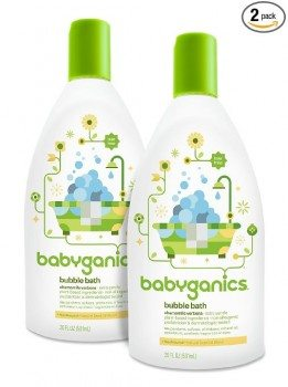 Babyganics Baby Bubble Bath, Chamomile Verbena, 20oz Bottle, (Pack of 2) Deal