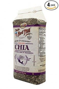 Bob's Red Mill Chia Seeds, 16-oz. Bags (Count of 4) Deal