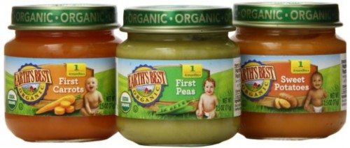 Earth's Best Organic Stage 1, My First Veggies Variety Pack, 12 Count, 2.5 Ounce Jars Deal