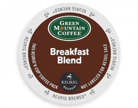Green Mountain Coffee K-Cups, Breakfast Blend K-Cup Portion Count for Keurig Brewers 96-Count Deal