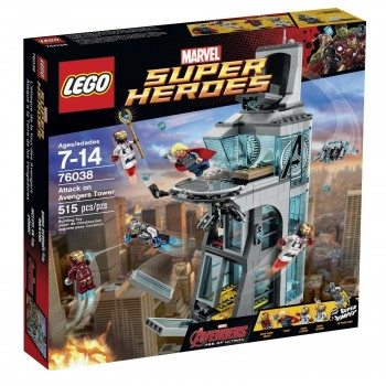 LEGO Superheroes Attack on Avengers Tower Deal