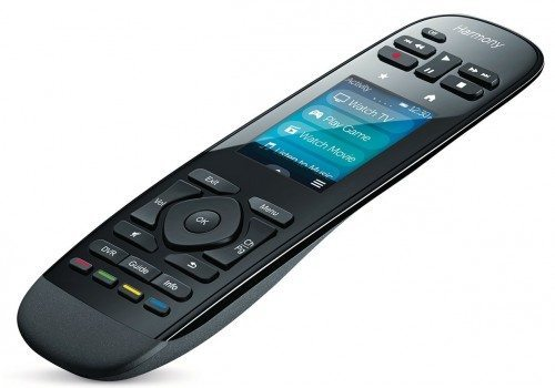 Logitech Harmony Ultimate Remote with Customizable Touch Screen and Closed Cabinet RF Control - Black (915-000201) Deal