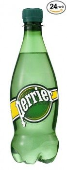 Perrier Sparkling Natural Mineral Water, 16.9-ounce Plastic Bottles (Pack of 24) Deal