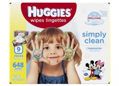 Huggies Simply Clean Baby Wipes, Refill, 648 Count Deal