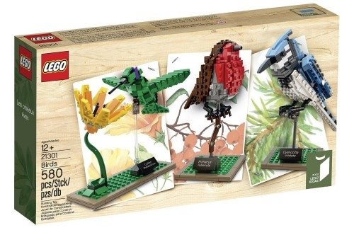 LEGO Ideas 21301 Birds Model Kit Deal