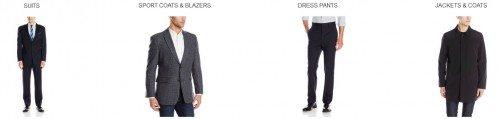 Men's Suiting from Top Brands Deals