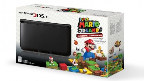 Black Nintendo 3DS XL with (Pre-installed) Super Mario 3D Land Game Deal