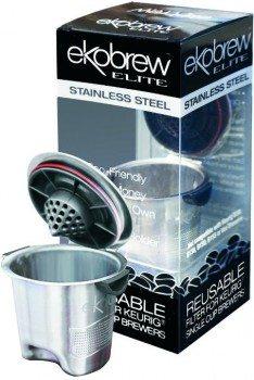 Ekobrew Stainless Steel Elite, Refillable K-Cup For Keurig K-Cup Brewers deal