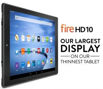 Fire HD 10, 10.1 HD Display, Wi-Fi, 16 GB - Includes Special Offers, Black Deal
