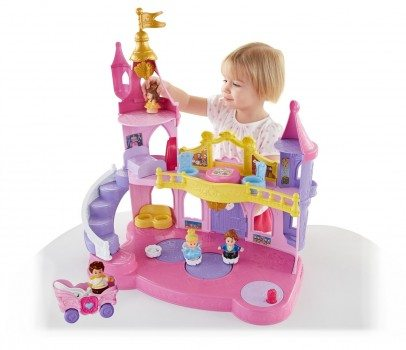 Fisher-Price Little People Disney Princess Musical Dancing Palace Gift Set Deal