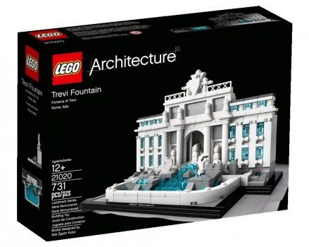 LEGO Architecture Trevi Fountain 21020 Building Toy Deal