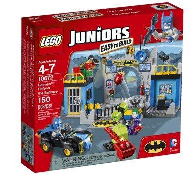 LEGO Juniors 10672 Batman Defend the Bat Cave Deal