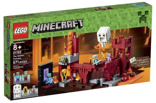 LEGO Minecraft 21122 the Nether Fortress Building Kit Deal