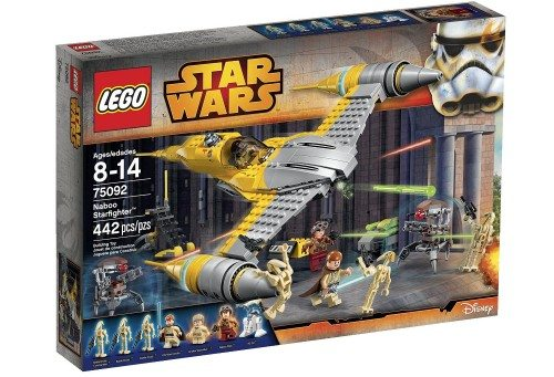 LEGO Star Wars Naboo Starfighter 75092 Building Kit Deal